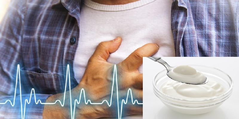 Reduce the risk of Heart Attack from 2 Tablespoons Curd