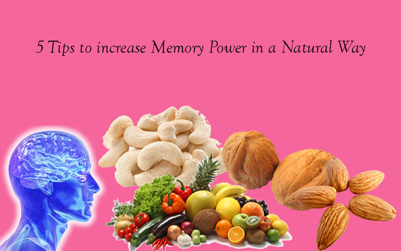 5 Tips to increase Memory Power in a Natural Way