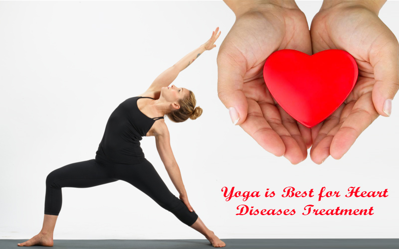 Yoga is Best for Heart Diseases Treatment
