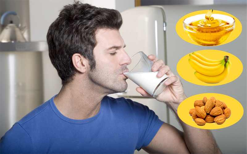 Intake of These Things with Milk will save You from Diseases