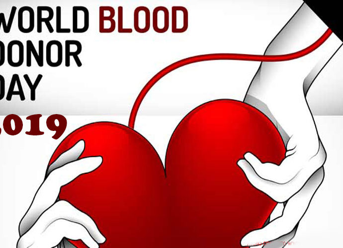 World Blood Donor Day 2019 Blood Donation Prevent Heart Attack